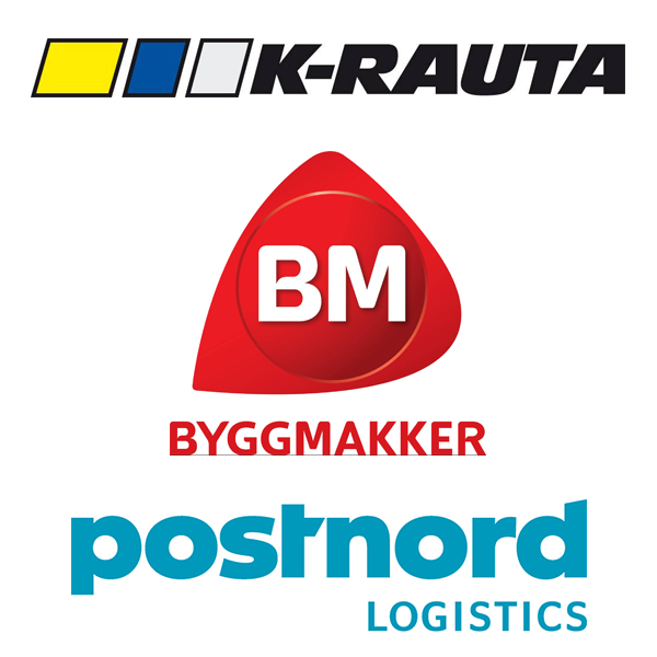 K-rauta Byggmakker Postnord