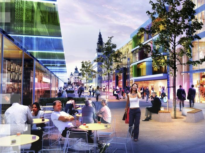 Linköping och Norrköping visar framtidens samhällsbyggnad på Business Arena