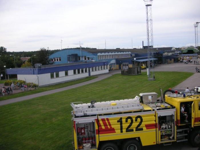 Norrköping flygplats fordon