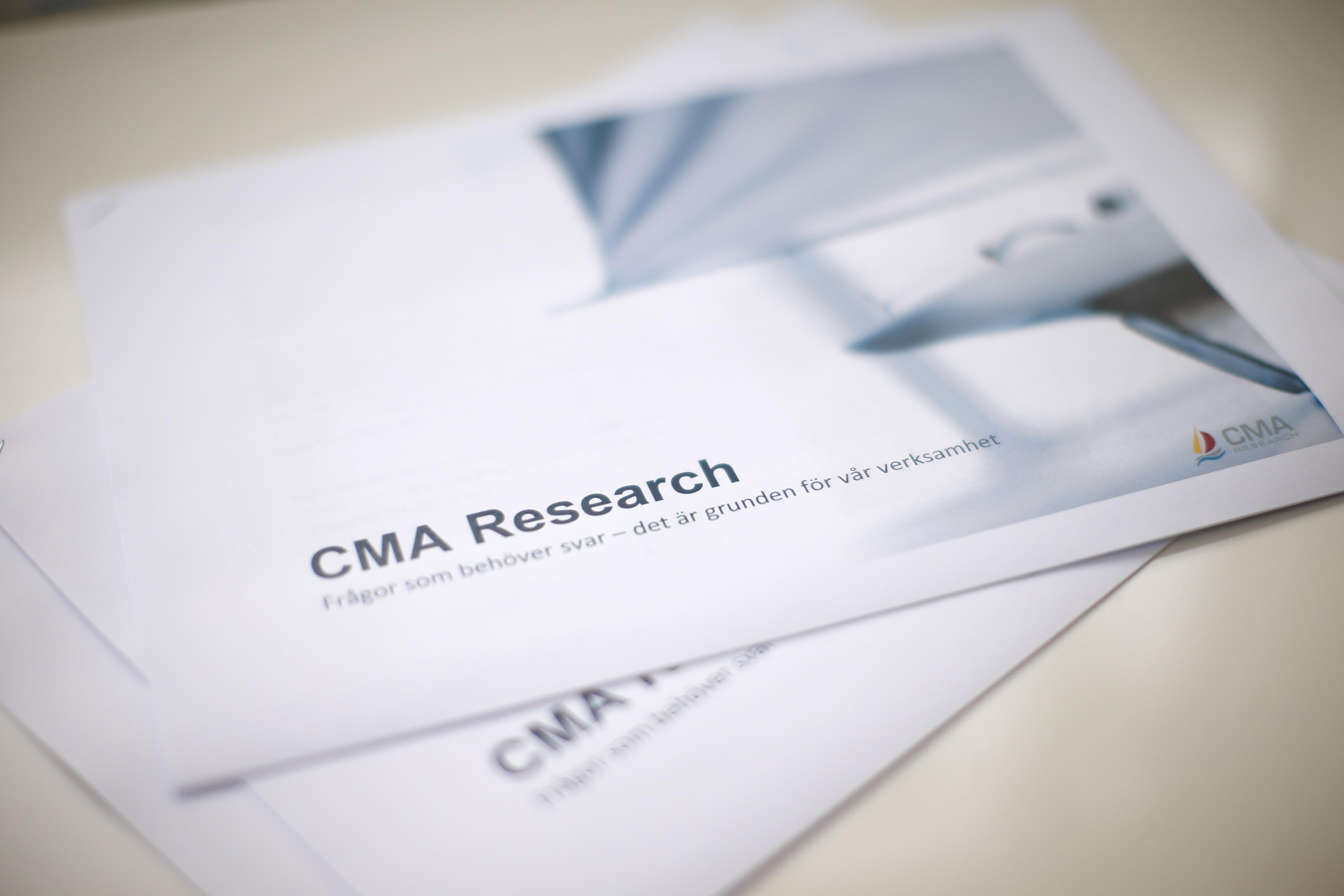 CMA Research  Denna bild kommer från CMA Research och är fri för all publicering. Foto: Lasse Hejdenberg
