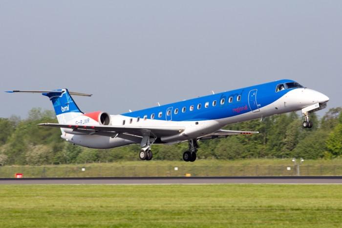 bmi regional flyger från Norrköping till München