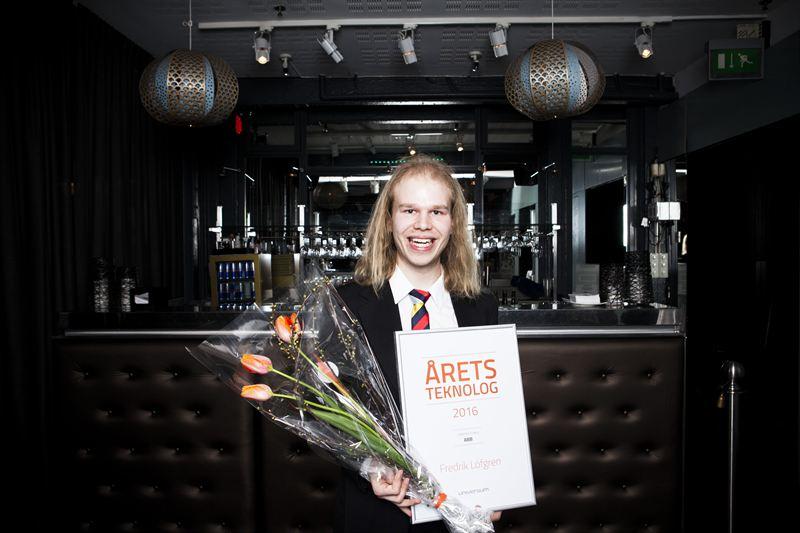 Fredrik Löfgren - Årets Teknolog 2016