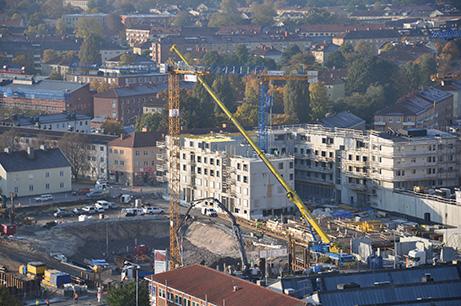 Linkoping ovre vasastan Foto: Claes Lundkvist/Linköpings kommun