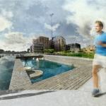 Bad längs strömmen - Norrköping