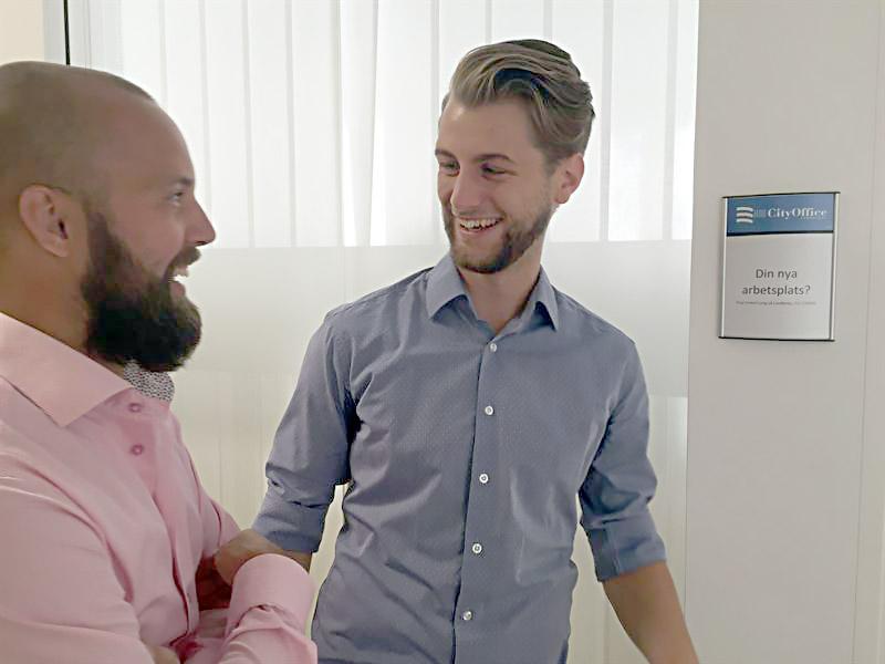 Young Capital både utvecklas och utvecklar Lyckan Fredrik Ljung, kommersiell förvaltare på Lundbergs och Alexander Zahari, VD och grundare, Young Capital.