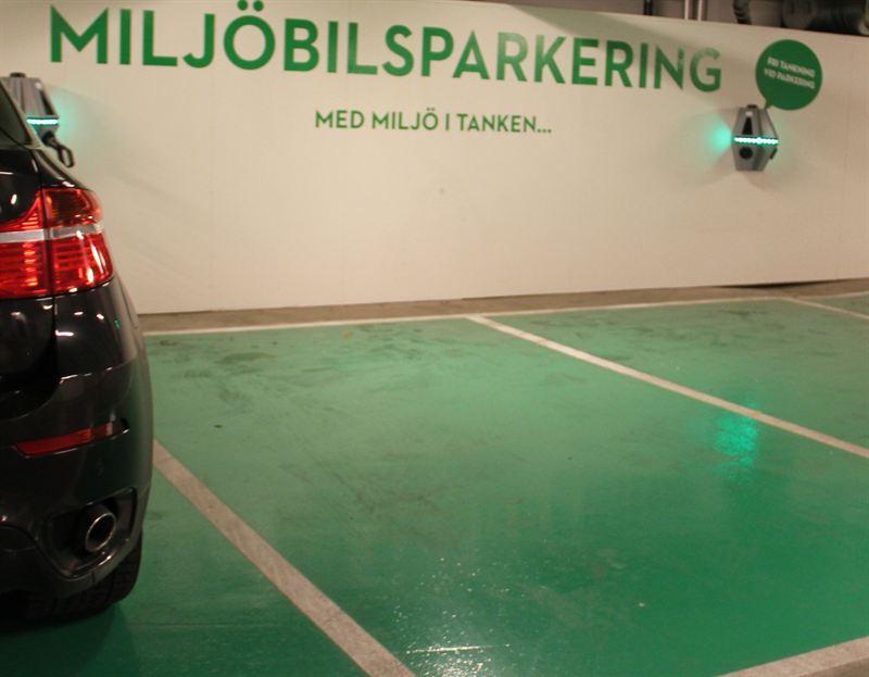 Nya laddstolpar för elbilar i Norrköping