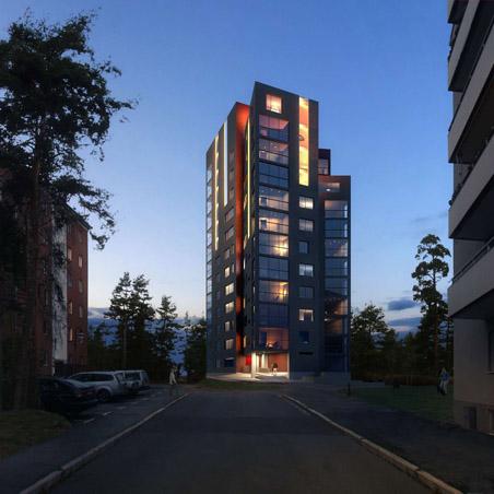 NCC bygger Stångåstadens höghus