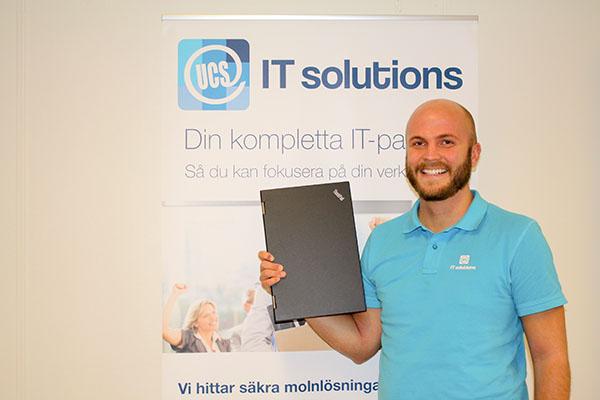 12 miljonersaffär till UCS IT Solutions AB! Eric Fernström, ansvarig projektledare