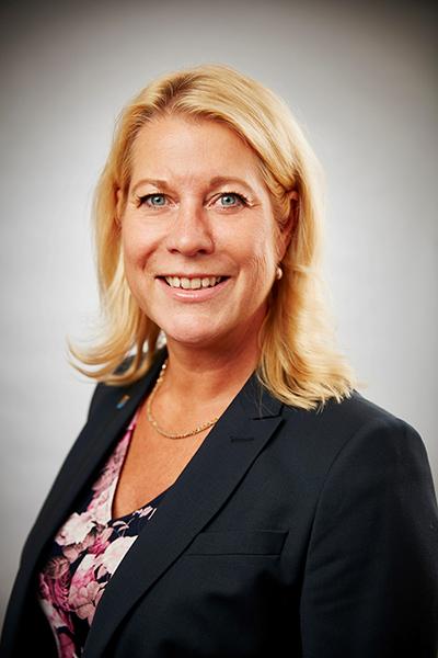 Catharina Elmsäter-Svärd segrade i Stora Trafiksäkerhetspriset 2017 (foto:Railcare)