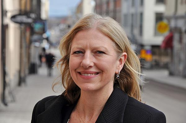 Pia Carlgren, ny näringslivsdirektör i Linköping. Foto: Claes Lundkvist/Linköpings kommun