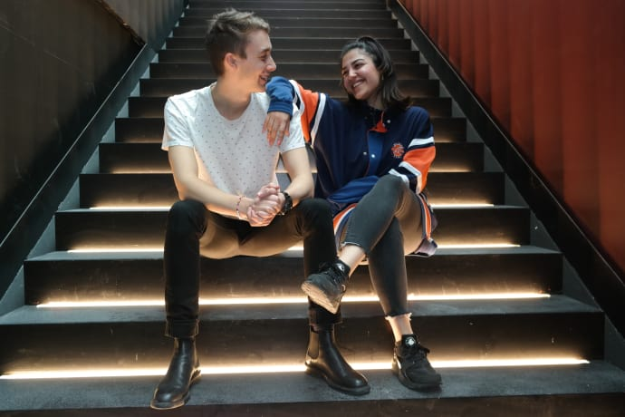 Unga i Linköping får verktyg för att kunna förbättra samhället. Talare: Björn Fondén och Evyn Redar