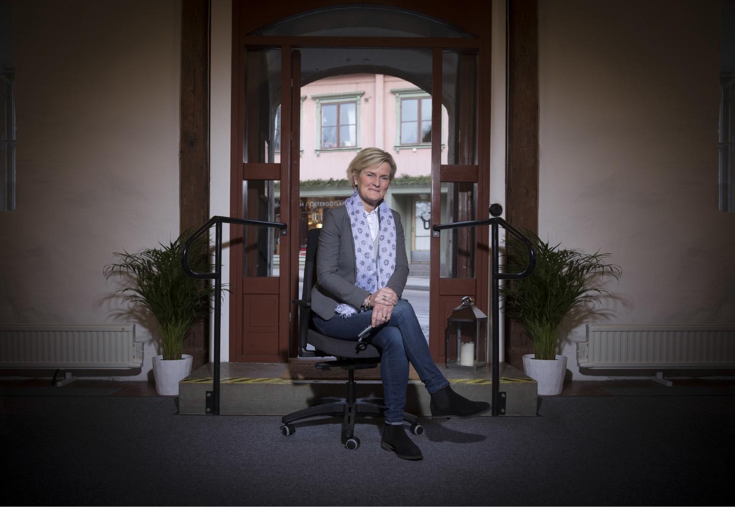 Karin Ljungmark Malmström ny ordförande  för Östsvenska Handelskammaren