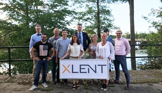 Dubbelt upp för XLENT i Östergötland