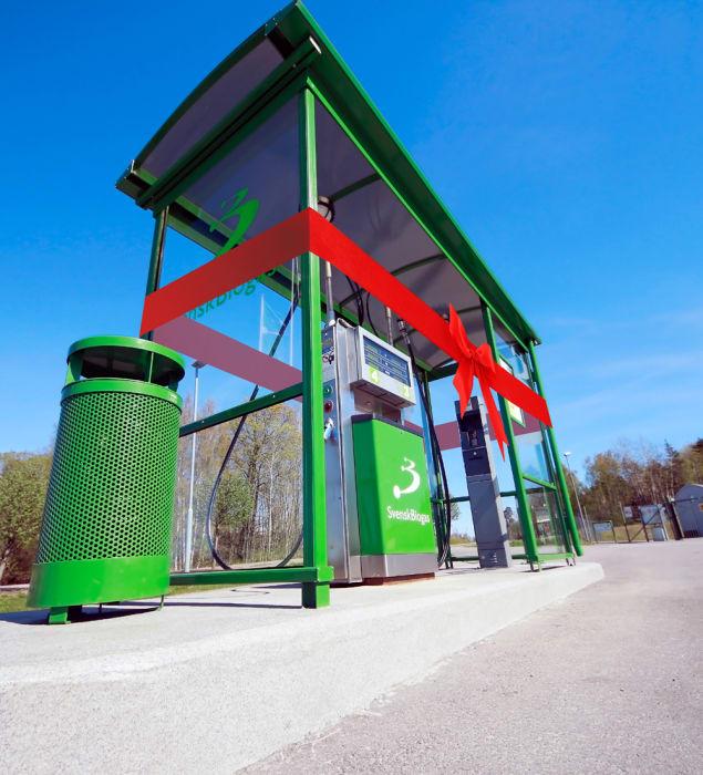 Ny biogasmack byggs i Tannefors. Den nya biogasmacken i Tannefors väntas stå klar under hösten 2017.