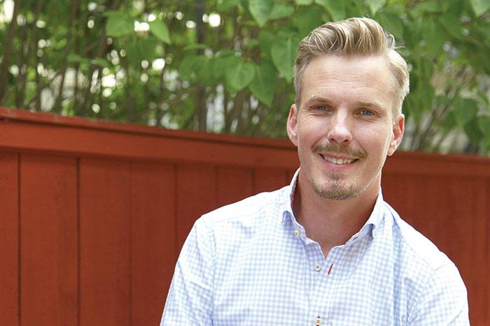 Erik Nellmark ser en stor potential för regionen att växa. Här finns allt: goda kommunikationer, bra boende, ett starkt näringsliv med högteknologi och framgångsrik forskning i världsklass. Foto: Per Oddman.