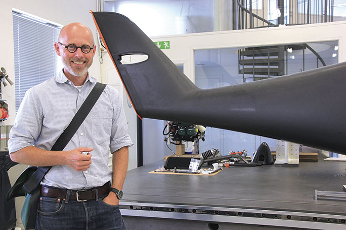 Orderingången är så stark att Petter Bladh och Nordic Aircraft kommer behöva nyanställa i höst. Foto: Carl Selling.