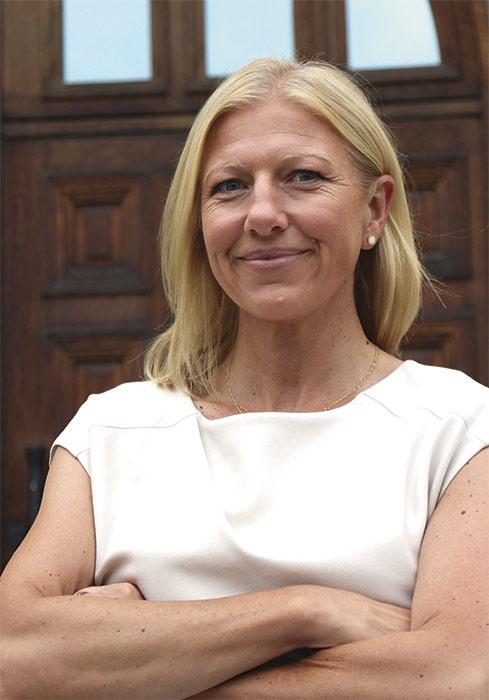 Pia Carlgren är Linköpings nya Näringslivs direktör. Foto: Mirjam Lindahl