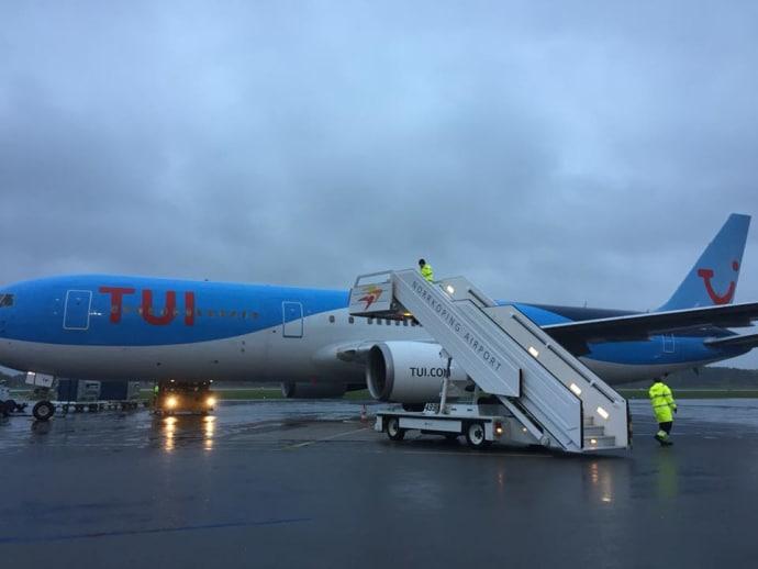 Uppåt för Norrköping Airport