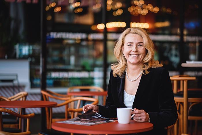 Det ska bli riktigt kul att ha möjligheten att träffa så många anställda på Tekniska verken, att få lära känna lite fler än bara de som rapporterar till ledningsgruppen, säger Charlotta Sund. FOTO: Martin Henningsson