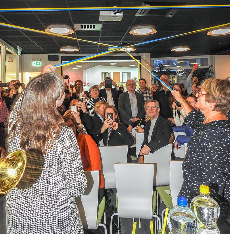 Välbesökt invigningsmingel på Cooperate i Söderköping