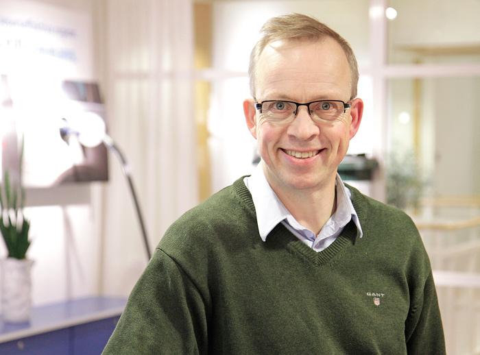 Henrik Lindståhl är ansvarig projektledare hos Tekniska Verken för det värmelager som kan komma att revolutionera fjärrvärmeproduktionen i Linköping.  Foto: Per Oddman