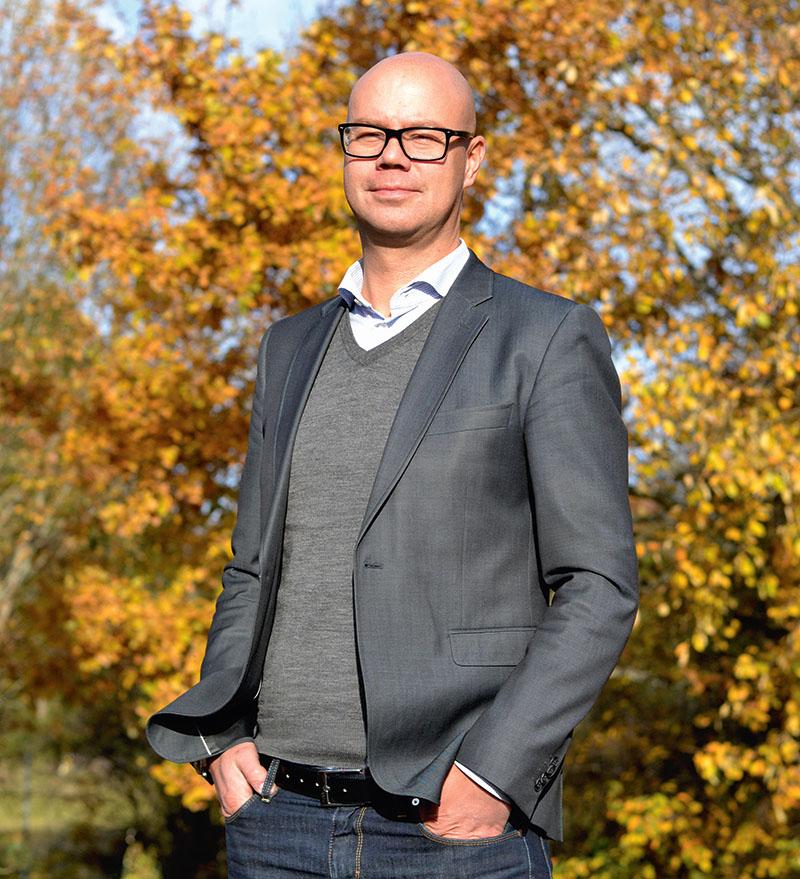 Johan Rydberg ny vd för Cleantech Östergötland