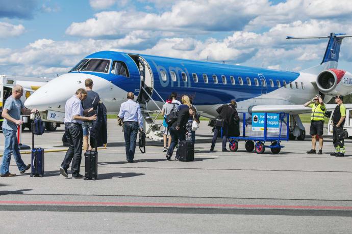2017 blev ett framgångsrikt år för Norrköpings flygplats