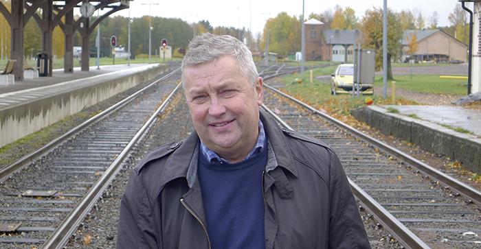 Michael Leijonhud, samordnare på Infrastrukturkansliet, är försiktigt optimistisk inför Trafikverkets nya transportplan. Foto Roger Nyström