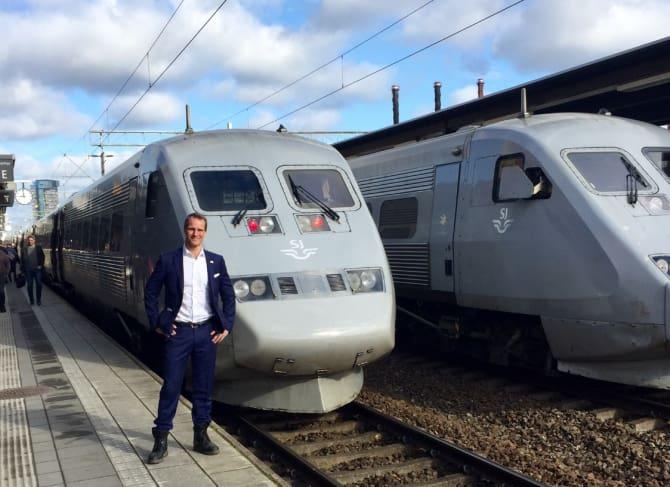 Storsatsning väntar på sträckan Stockholm Malmö Köpenhamn SJs affärschef Petter Essén vill på sikt utöka antalet platser med 50 procent.