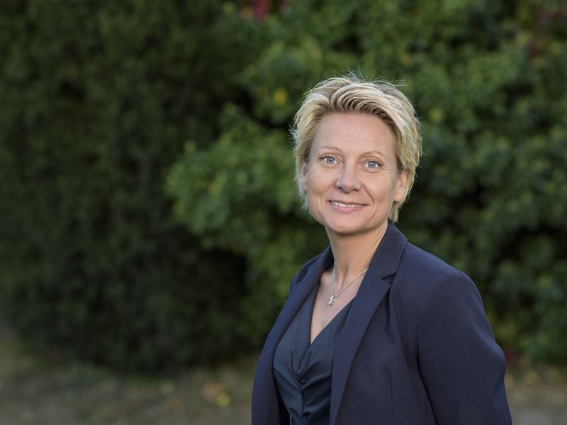 Christine Karmfalk ny vd på Kolmården. Fotograf: Joakim Lenell