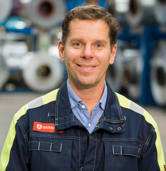 Gränges investerar 400 miljoner i Finspång Jörgen Abrahamsson, VD Gränges Sweden AB
