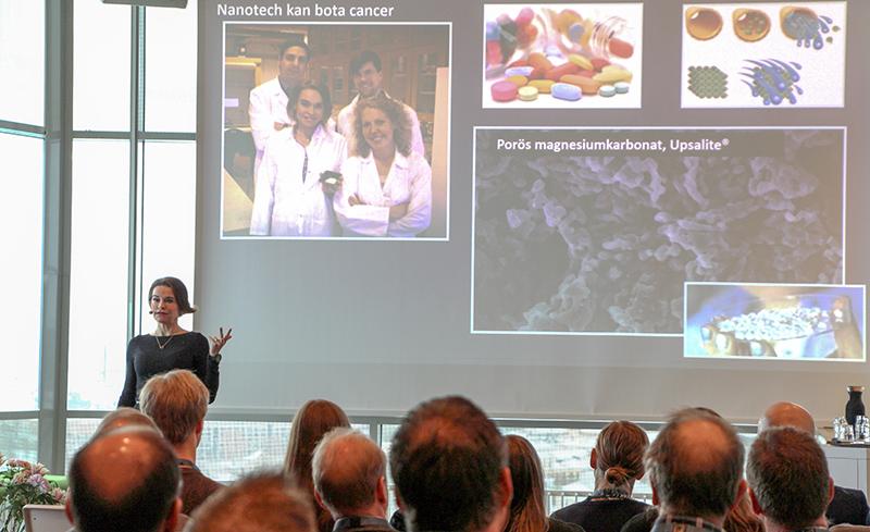 Materialsatsningen i Östergötland ger hopp om att lösa våra samhällsutmaningar.  Maria Strömme, professor i nanoteknologi vid Uppsala universitet samt materialentreprenör