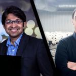 Nominerade: Naveen Sasidharan & Abhishek Jacob på Worldish. Mahziar Namedanian med Östgötasvamp. Fotomontage Affärsstaden Foto: ICA