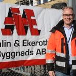 Ny affärsområdeschef hos Åhlin & Ekeroth - Johan Sedin tar Mark