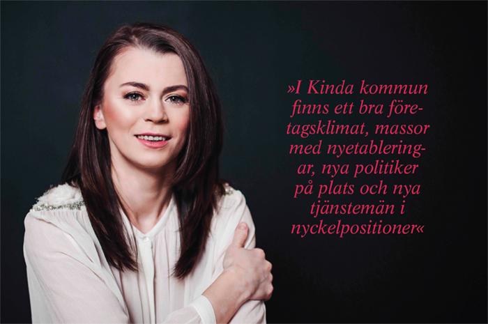 Andreea Bernicu, VD för Växtkraft Kinda. Foto: Satu Knape
