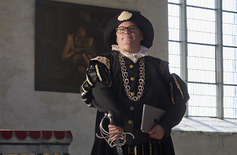 180 årsfirande Vadstena sparbanks vd Mikael Engdahl fångar bankens historia och blickar stadigt mot framtiden