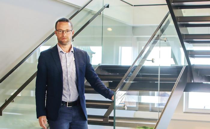 Bostäder, handel och kontor; alla delar behövs för att en stadsdel ska utvecklas, menar Jonas Thyrsson, chef för fastighetsutveckling på Lundbergs. Foto: Mirjam Lindahl