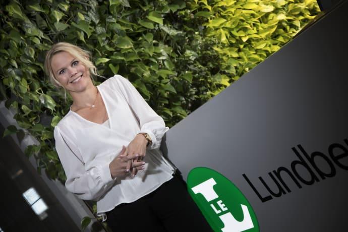 Johanna Palmér tar plats i styrelsen för Fastighets AB L E Lundberg