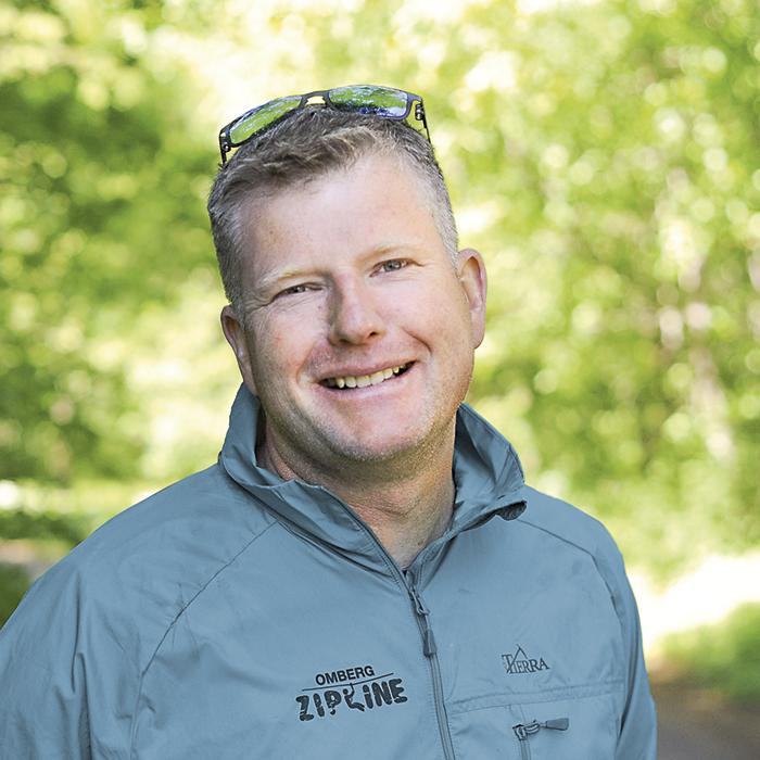 Mattias Karlsson – bonden som blev entreprenör, och idag har fem olika bolag.  Foto: Björn Lisinski