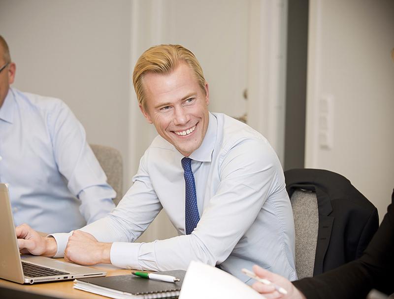 Lundbergs startar ny avdelning för affärsutveckling. Christian Claesson Foto: Ulla-Carin Ekblom