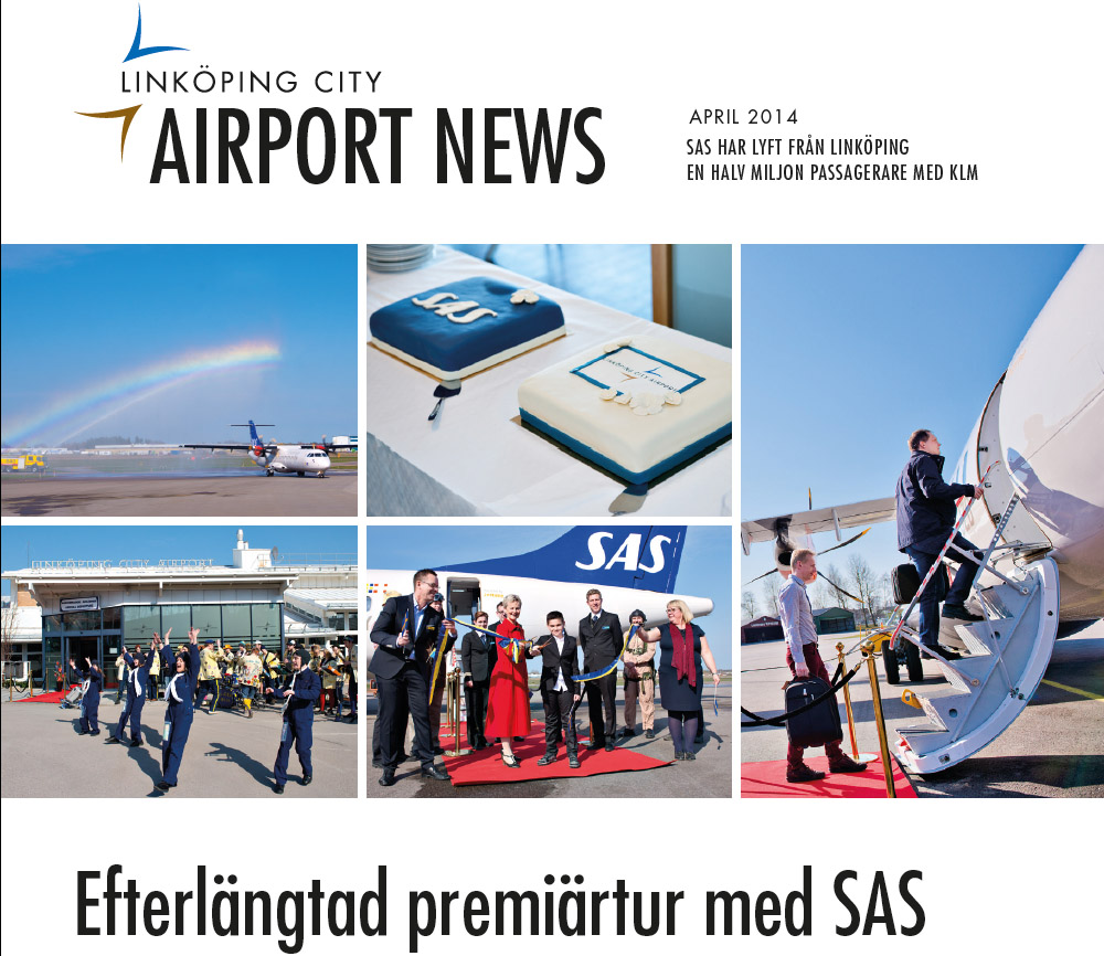Linköping-Köpenhamn med SAS firar ett år