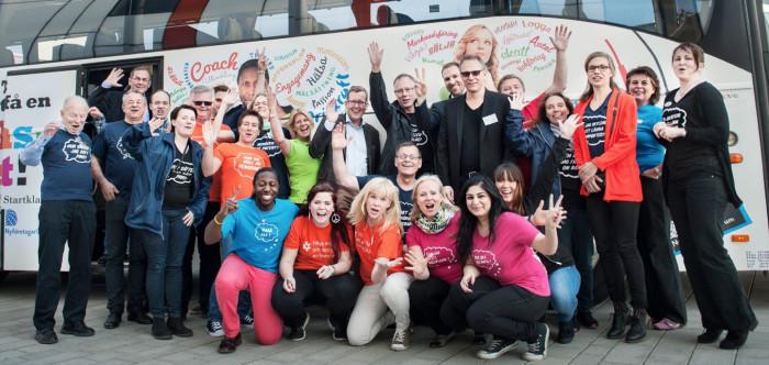 Framgångsrikt starta eget koncept lockar 100-tals Linköpingsbor