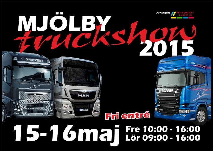 Mjölby truckshow 2015