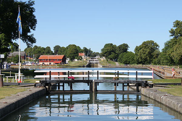 Nytt besökscentrum för Göta kanal vid Bergs slussar