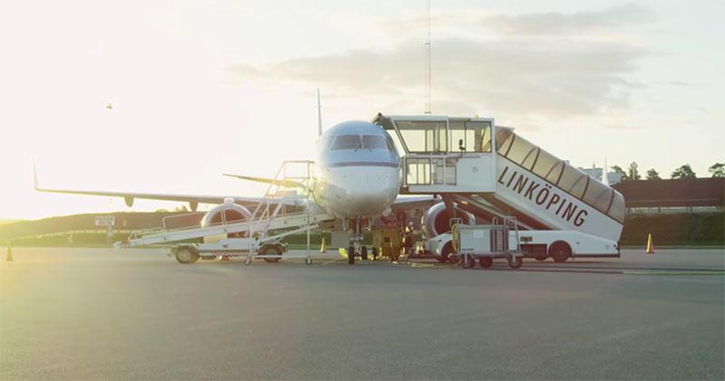 Premiär för Linköping City Airports nya film