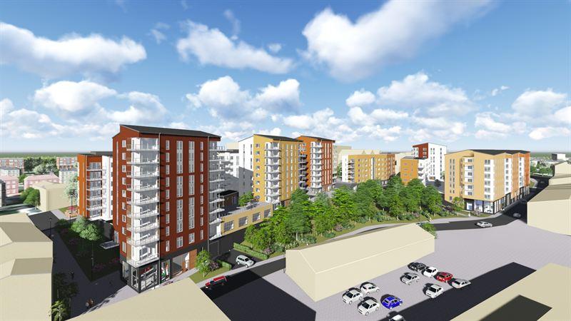 Skanska bygger 392 lägenheter i centrala Norrköping för cirka 560 miljoner kronor