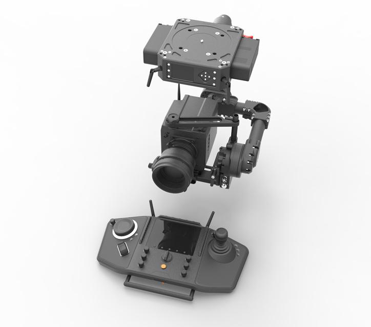 Intuitive Aerial får beställning på kameraplattformen NEWTON
