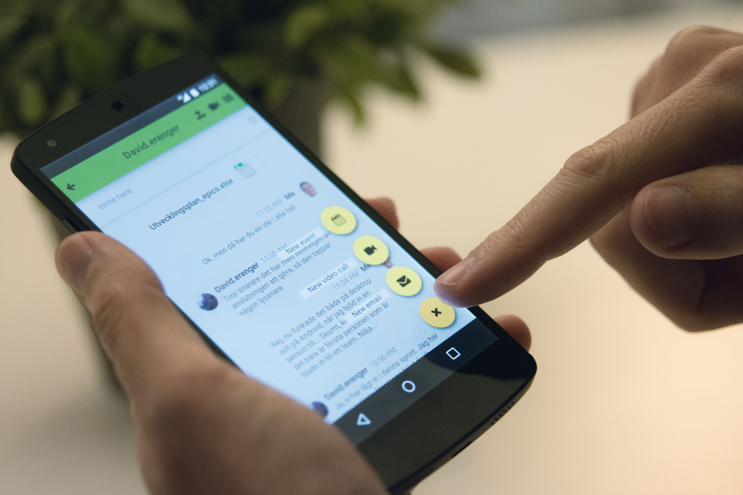 Smart kommunikationsapp lanseras av Briteback