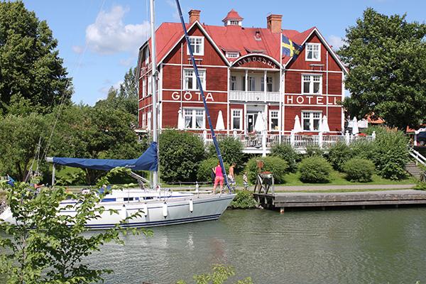 Kanalbolaget köper Göta Hotell
