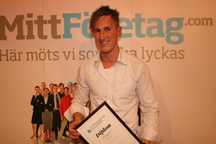 Året småföretagare i Sverige 2015 kommer från Östergötland!